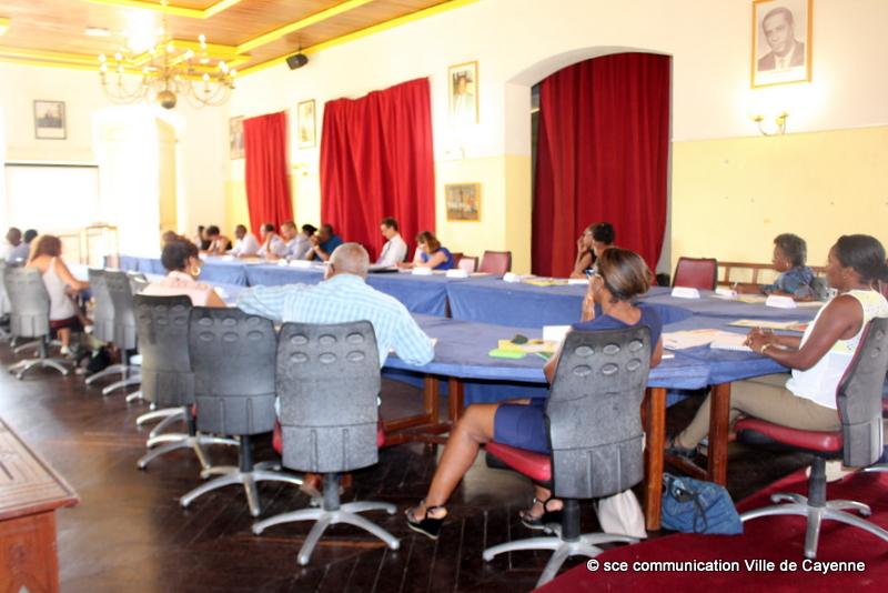GUYANE : Réunion à Cayenne du Conseil Local Sécurité Prévention et Délinquance