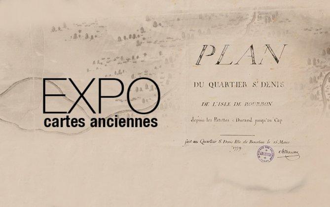 Réunion. Exposition «PLAN DU QUARTIER ST-DENIS 1733-1863»