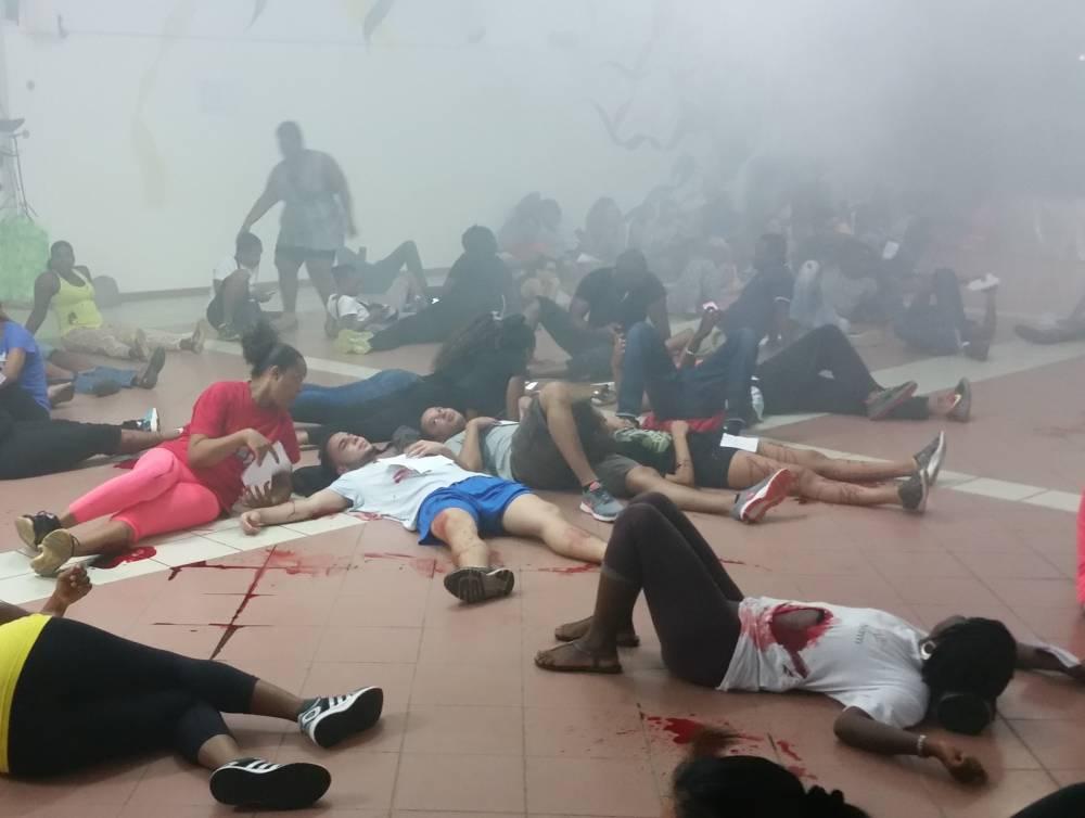 Guyane.Simulation d'attentat à Cayenne