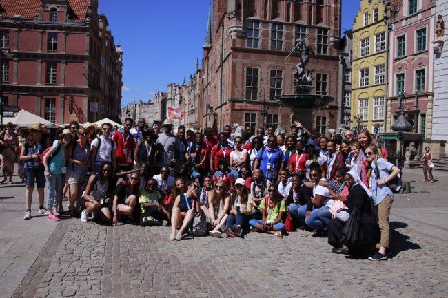 JMJ : Les Martiniquais et les guadeloupéens unis autour du Pape et des jeunes en Pologne