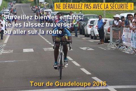 GUADELOUPE. 2ème étape du tour cycliste