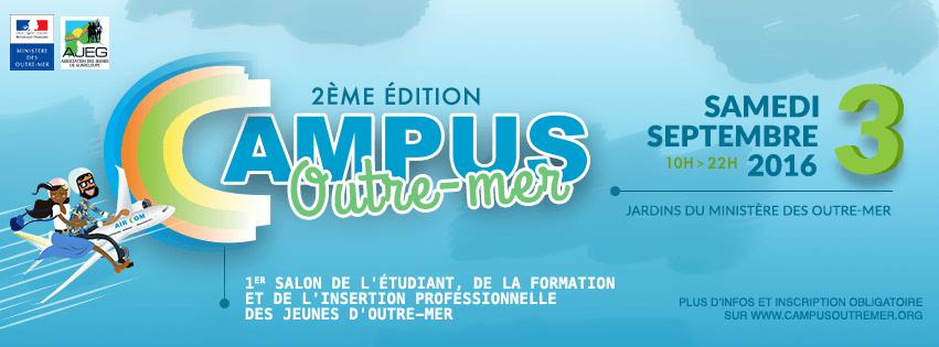 [Vidéo] Deuxième édition Campus Outremer samedi 3 septembre