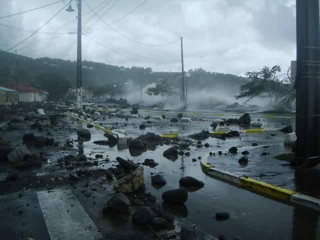 MARTINIQUE. Le point après le passage de la tempête Mattew.