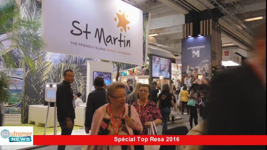 Vid o hexagone la collectivit de saint martin au salon for Salon top resa