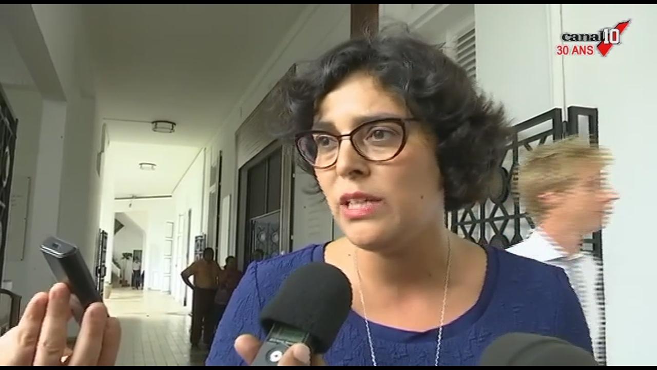 [Vidéo]GUADELOUPE. Visite de la ministre du travail Myriam El KOMRI. Reportage Canal 10