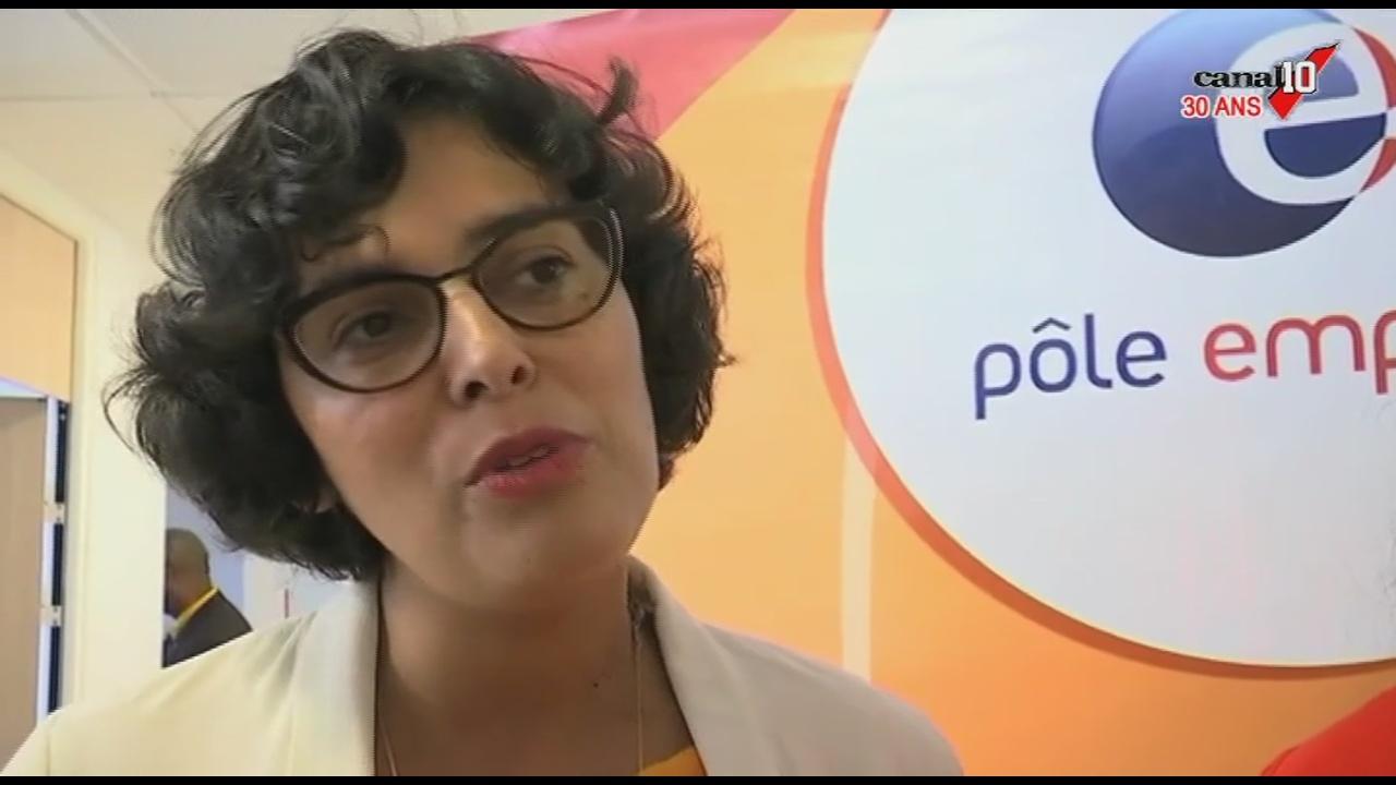 [Vidéo]GUADELOUPE. Suite de la visite Myriam EL KHOMRI Ministre du travail (Canal 10)