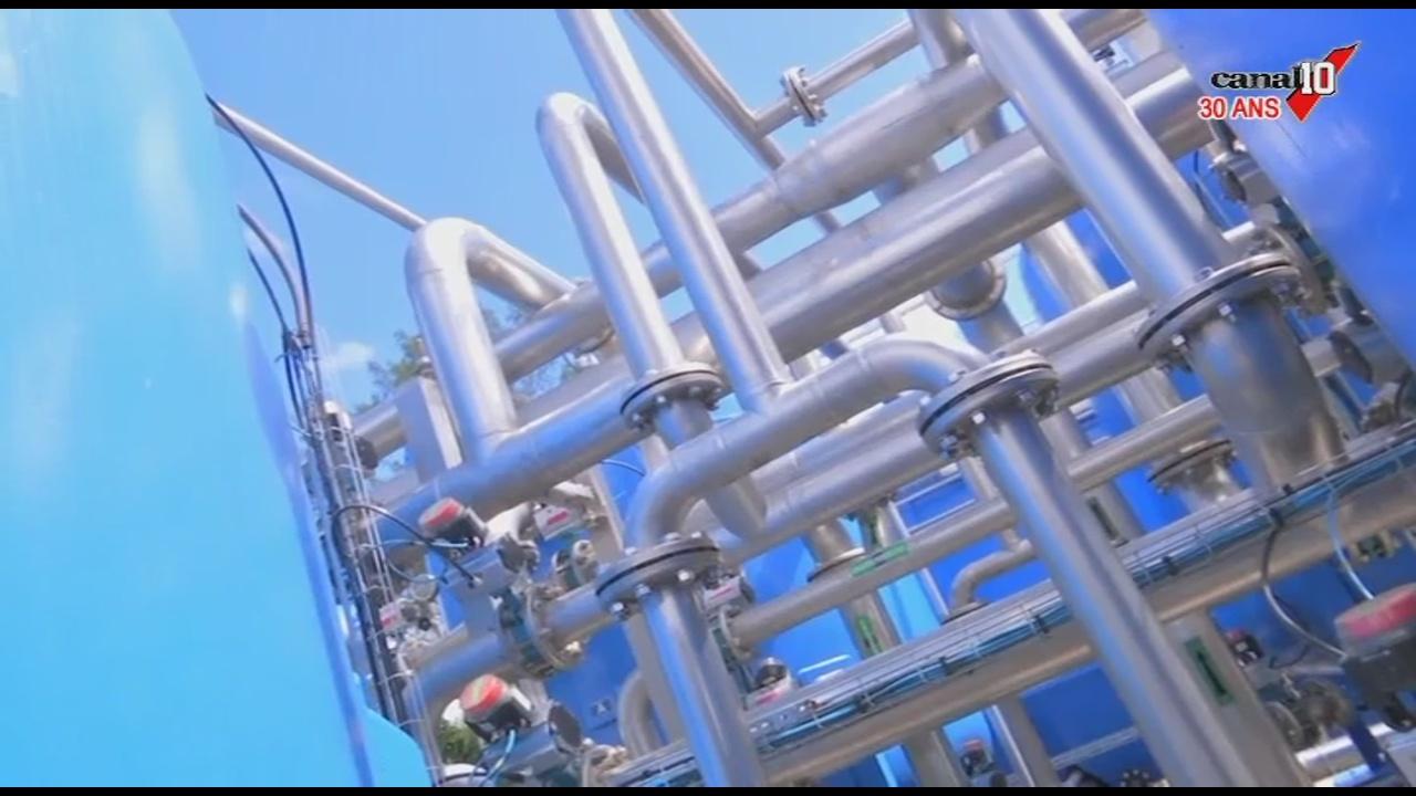 [Vidéo] GUADELOUPE. Inauguration d'une station de captage d'eau à Sainte rose. (canal10)