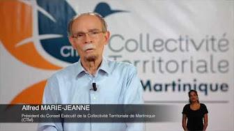 [Vidéo]MARTINIQUE. Voeux de Alfred MARIE JEANNE Président de la CTM pour 2017