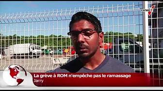 [Vidéo] Le point sur la grève à Rom. (canal 10)