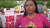 [Vidéo] GUADELOUPE. Manifestation des élus Marie-galantais (Canal 10)