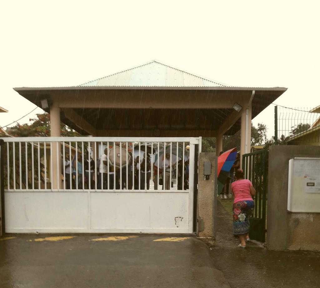 GUADELOUPE. Vigilance jaune, un collège de Vieux habitants évacué