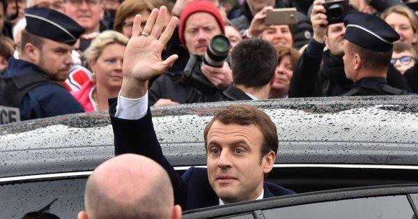 Election présidentielle. Emmanuel MACRON élu Président de la république