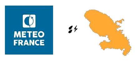 La Martinique placée en vigilance orange, de nombreuses inondations constatées