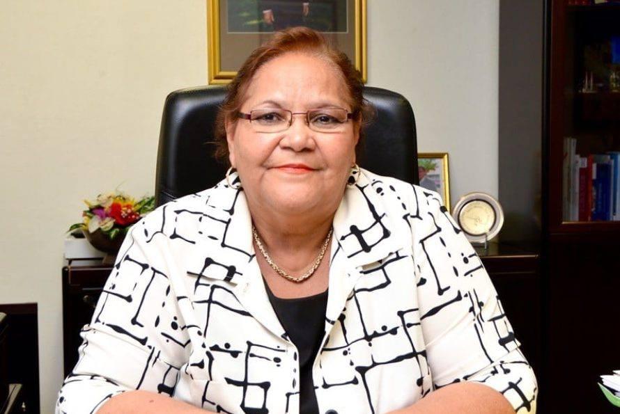 GUADELOUPE. DÉCÈS D'ALINE HANSON Ary Chalus salue la mémoire de l'ancienne Présidente de la Collectivité de Saint-Martin