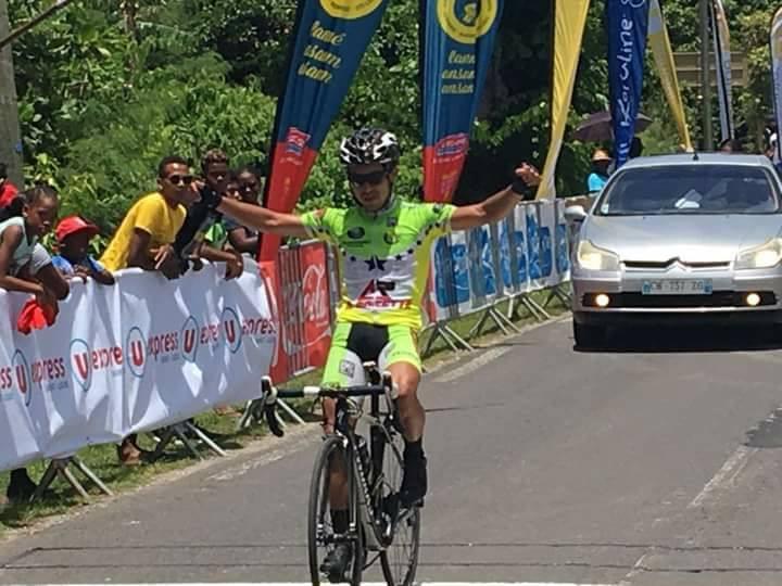 GUADELOUPE. 3ème étape du tour cycliste de Marie Galante (Luigi NICOLAS)