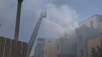 [Vidéo]REUNION. Incendie ruelle Pavée Saint Denis (Source Freedom)