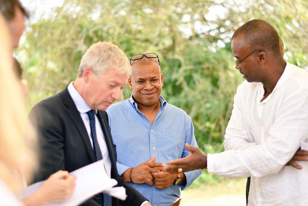 PISTE SUPER-MOTARD Le Président de Région obtient l'accord du Préfet pour la concrétisation du projet, dans le respect des contraintes environnementales