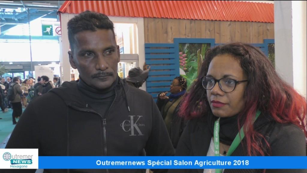 Outremernews Spécial Salon de l'Agriculture.