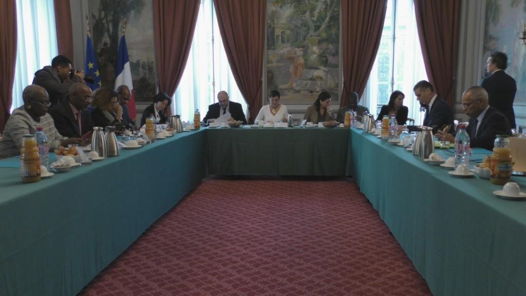 [Vidéo]HEXAGONE. Réunion de Travail à Paris sur la Pollution du Chlordécone aux Antilles.