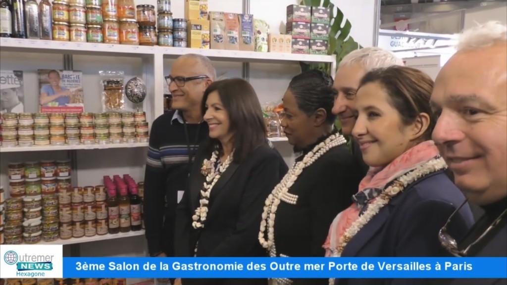 Vid o hexagone 3 me salon de la gastronomie des outre for Salon gastronomie paris