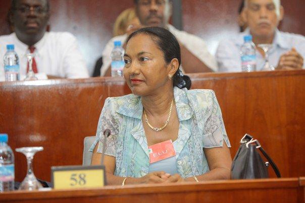 GUADELOUPE. CTIG : Josette BOREL-LINCERTIN salue l'élection de Marlène BERNARD à la 2ème vice-présidence