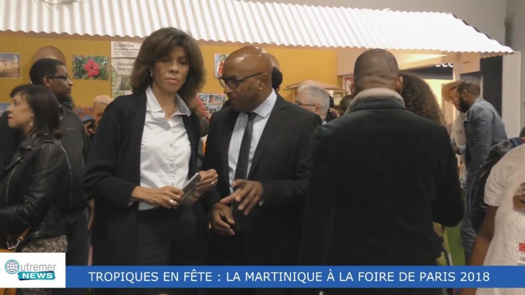 [Vidéo] HEXAGONE. La Martinique à la Foire de Paris 2018