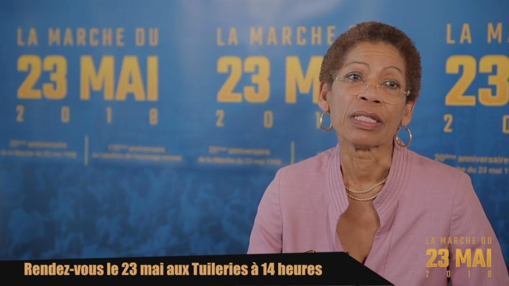 [Vidéo] HEXAGONE. Hommage à Aimé CESAIRE et George PAU ANGEVIN la Marche du 23 Mai