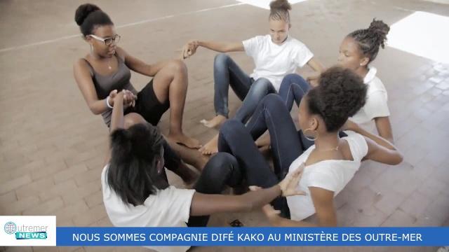 [Vidéo] Difé Kako au Ministère des Outre mer