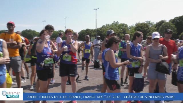 [Vidéo] HEXAGONE. 23ème Foulées Iles de France des Iles de Paris
