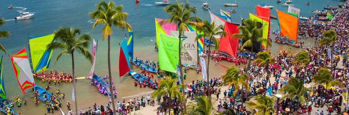 MARTINIQUE. Tour des Yoles rondes de Martinique Journée sécurité en mer