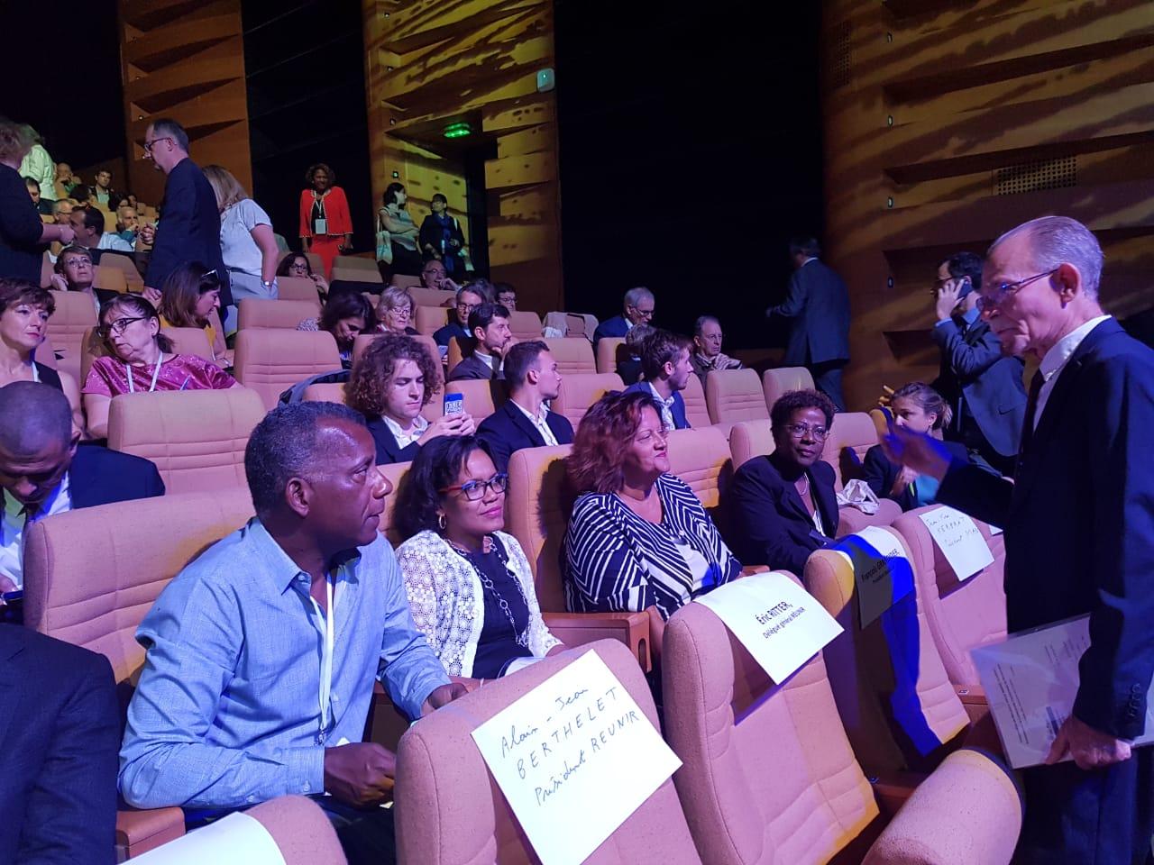 MARTINIQUE. Les élus de Martinique au 14ème Congrès de Régions de France
