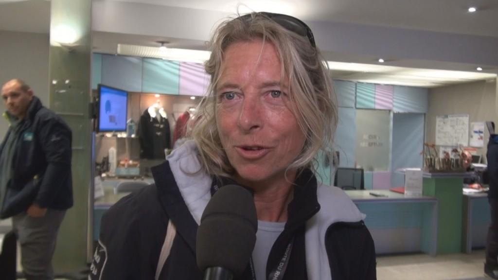 [Vidéo] HEXAGONE. Spéciale Route du rhum. Interview de Miranda MERRON Skipper