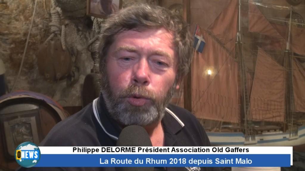 [Vidéo] HEXAGONE. Spéciale Route du Rhum 2018 Interview de Philippe DELORME Association Old Gaffers