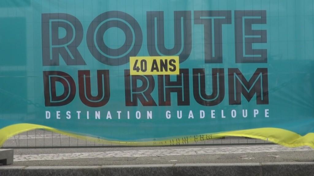 [Vidéo] Spéciale route du Rhum. Interview de Ary CHALUS Président de la Région Guadeloupe et willy BISSAINTE Skipper