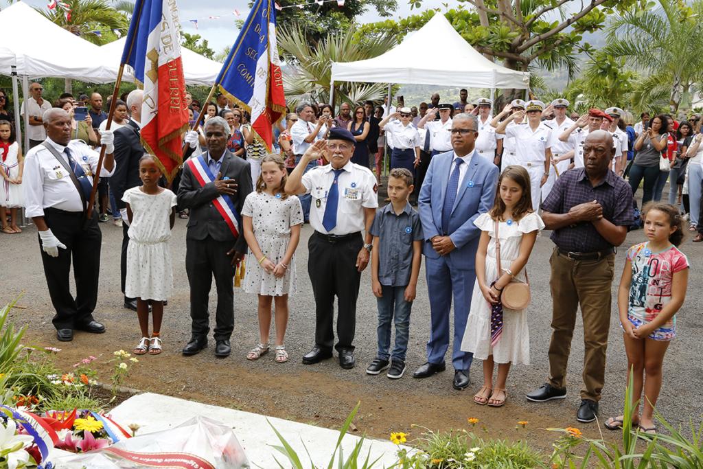 REUNION. La mémoire des 19 victimes de la Grande Guerre du quartier de Bois de Nèfles Saint-Paul, réhabilitée