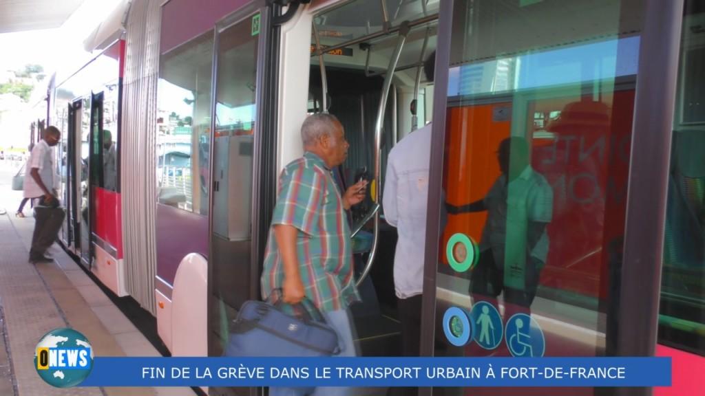 [Vidéo] MARTINIQUE. Fin de la grève dans le transport urbain à Fort de France