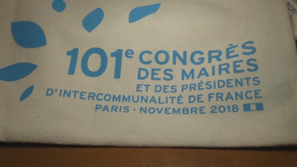 [Vidé] HEXAGONE. Congrès des Maires à Paris Max MATHIASIN Député de Guadeloupe