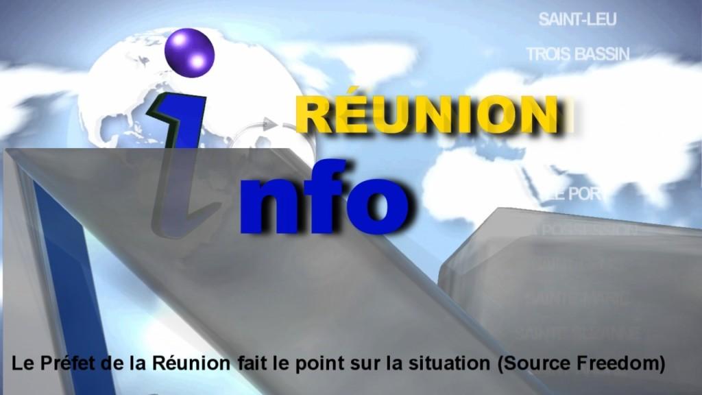 [Vidéo] REUNION. Le Préfet de la Réunion fait le point les évènements (Source Freedom)