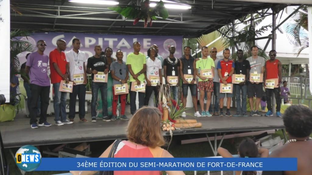 [Vidéo] MARTINIQUE. 34ème Edition du Semi Marathon de Fort de France ce dimanche 25 novembre