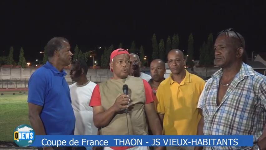 [Vidéo] GUADELOUPE. Coupe de France Thaon-Vieux Habitants