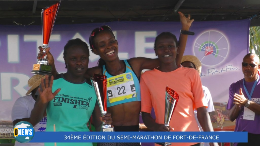 [Vidéo] MARTINIQUE.  34 ème Edition du Semi Marathon de Fort de france