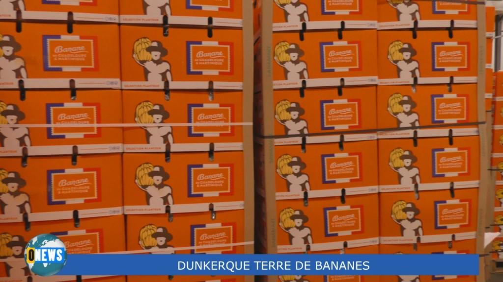 [Vidéo] HEXAGONE. Visite à Dunkerque ville liée à la banane de Guadeloupe et Martinique