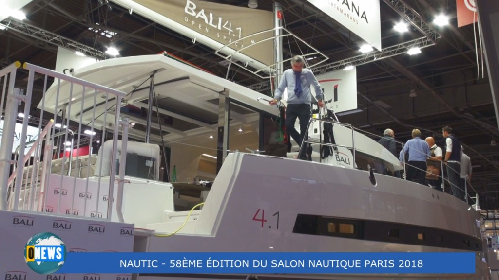 [Vidéo] HEXAGONE. Le Salon Nautique International à Paris