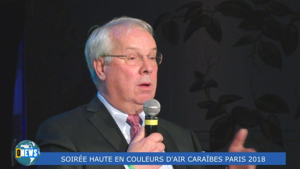 [Vidéo] HEXAGONE. SOIRÉE HAUTE EN COULEURS D'AIR CARAIBES PARIS 14 décembre 2018