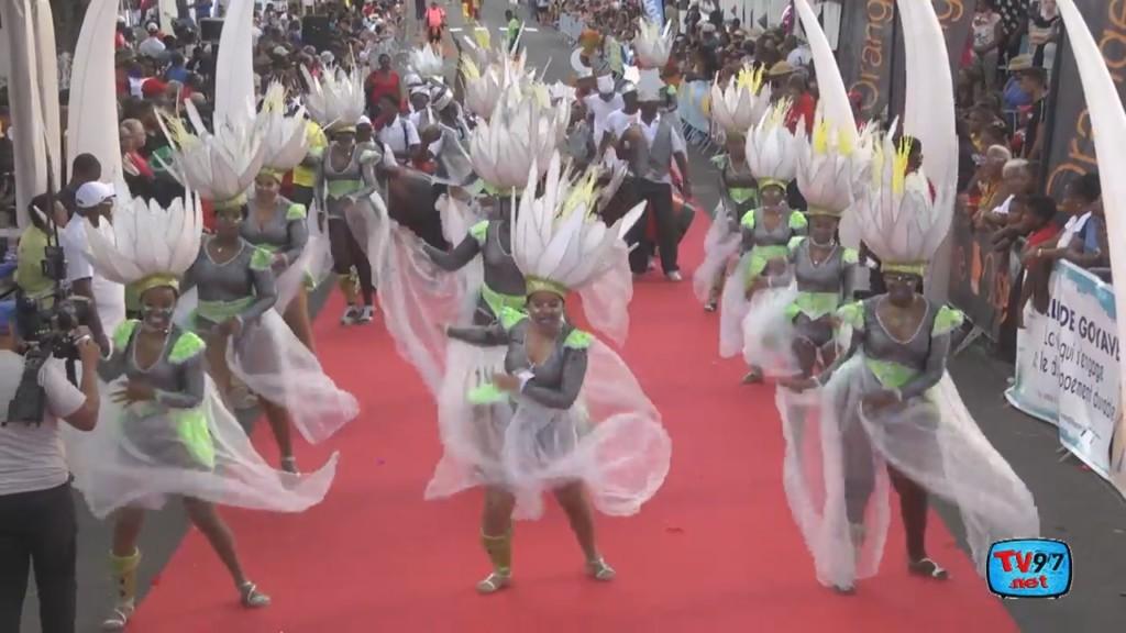 [Vidéo] La Parade du carnaval 2019 à Goyave. Images TV97