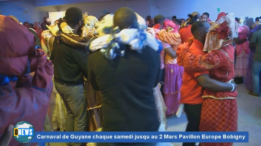 [Vidéo] HEXAGONE. Carnaval de Guyane chaque samedi jusqu au 2 Mars Pavillon Europe Bobigny