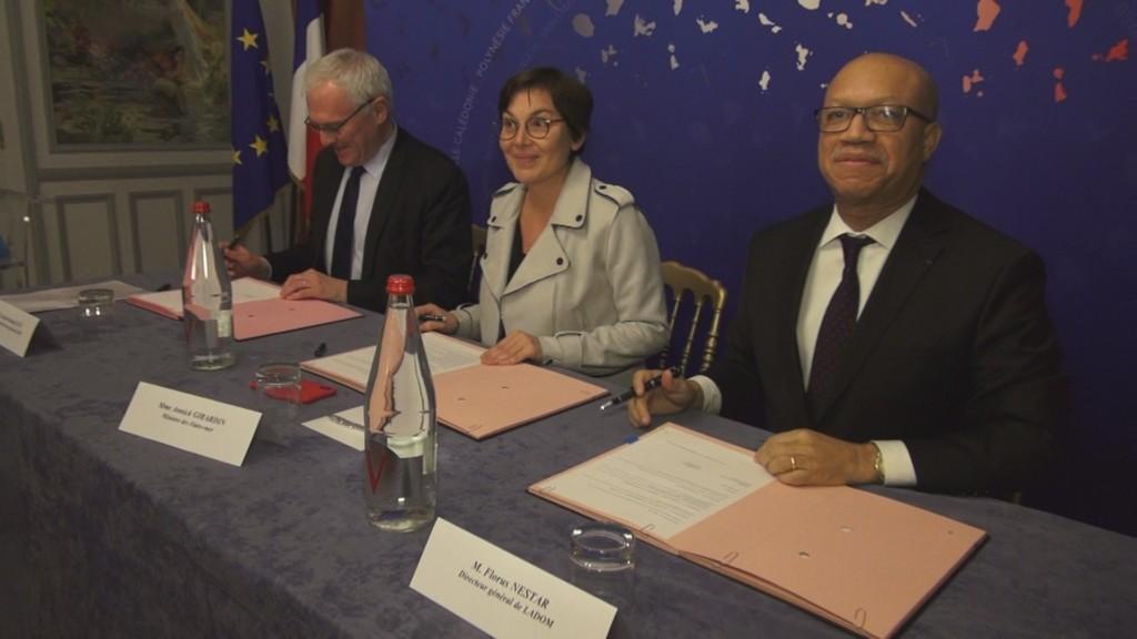 [Vidéo] HEXAGONE. Signature entre le Groupe EDF et LADOM pour l'insertion professionnelle des jeunes ultramarins
