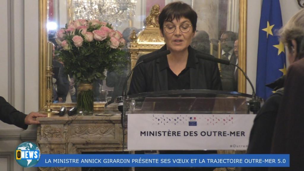 [Vidéo] HEXAGONE. Les voeux de la Ministre des Outre-mer Annick GIRARDIN