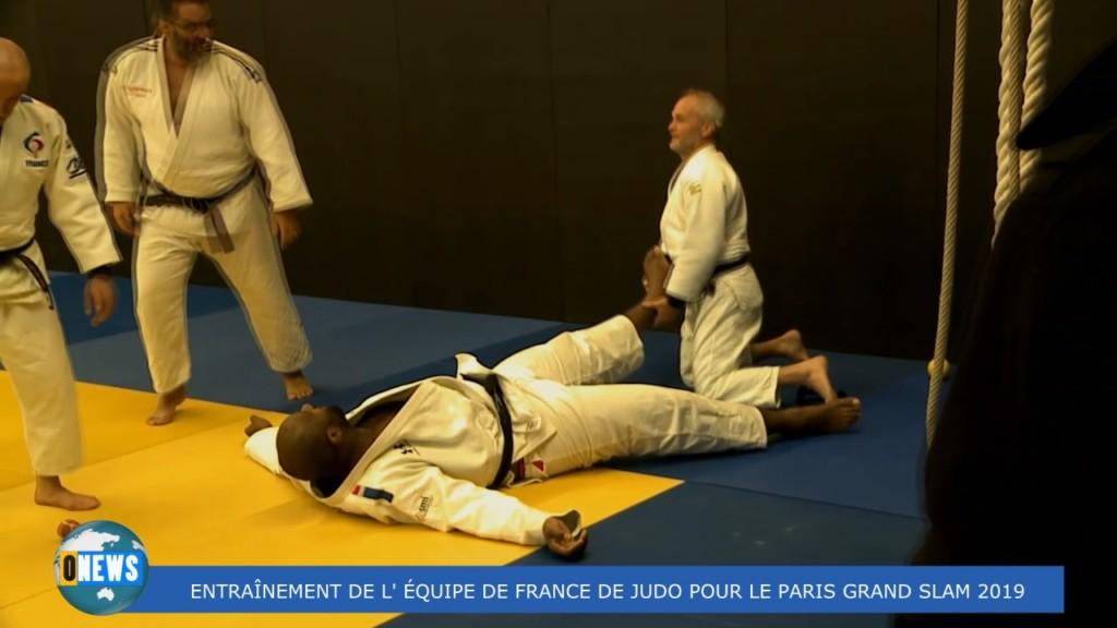 [Vidéo] Entraînement de l'équipe de France de Judo. Interview de Teddy RINER