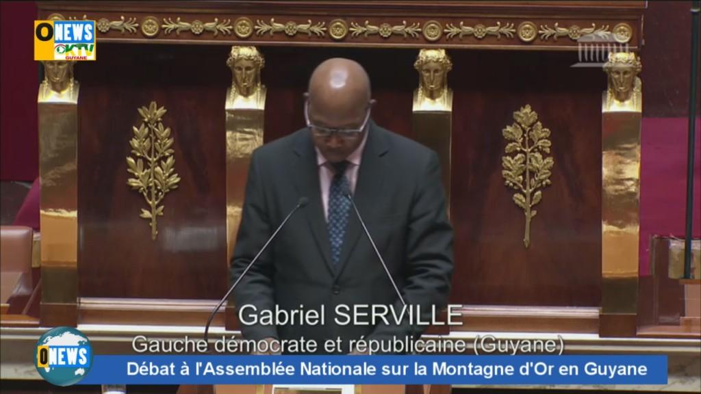 [Vidéo] Débat à L'Assemblée Nationale sur le projet Montagne d'or en Guyane.